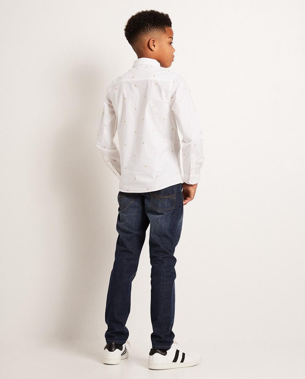 Hemden - AO1 - Cremeweißes Hemd